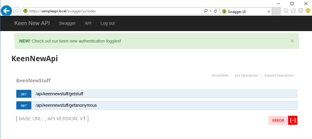 Secure Web APIs With Swagger, Swashbuckle, and OAuth2 (Part 3)
