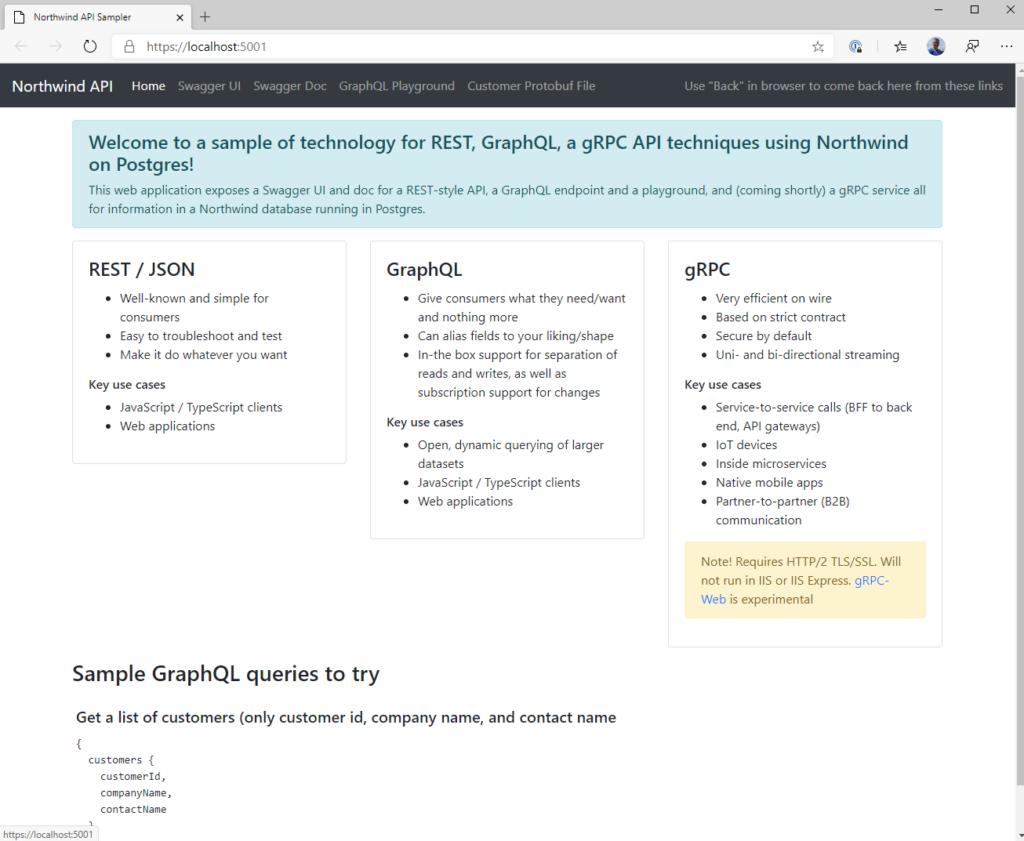 Comparing OpenAPI / Swagger, GraphQL, and gRPC